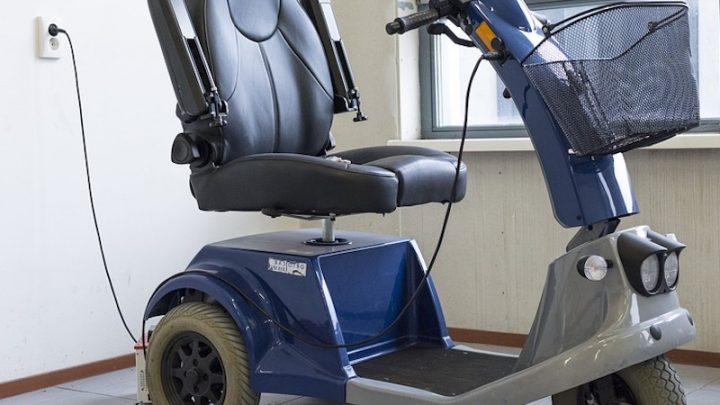 Scooters électriques de mobilité pour les personnes en situation de handicap
